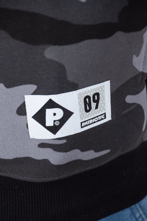 Bluza Patriotic Hoodie Future 3-Lines K Black Camo