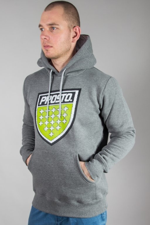 Bluza Prosto Hoodie Surround Grey