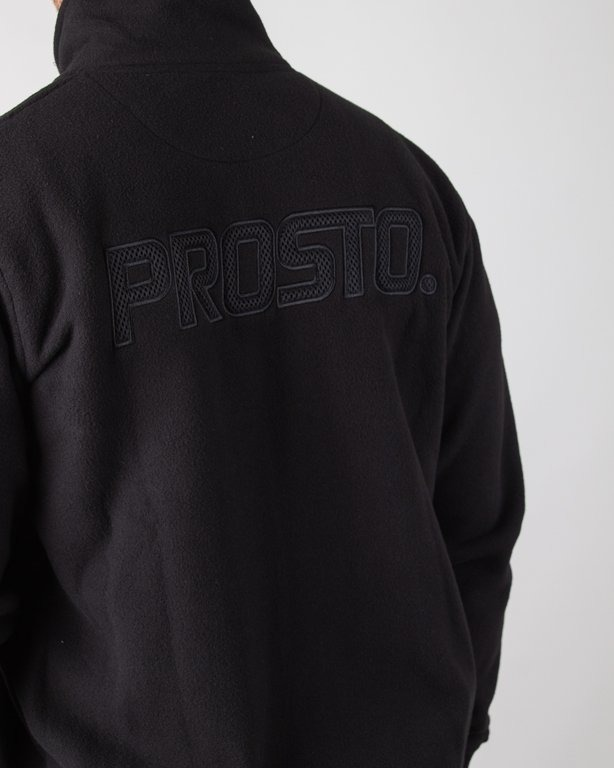 Bluza Prosto Zip Fleece Top Heated Black