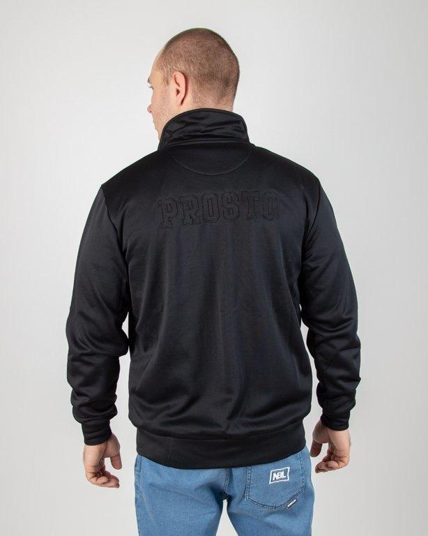 Bluza Prosto Zip Football Olimpia Black