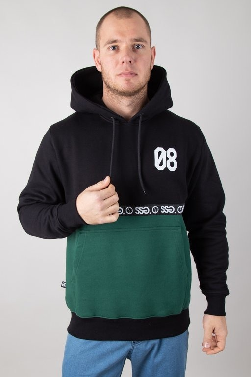 Bluza SSG Hoodie 08 Line Black-Green