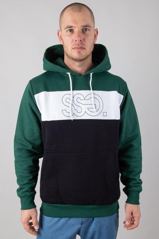 Bluza SSG Hoodie Triple Outline Green-Black
