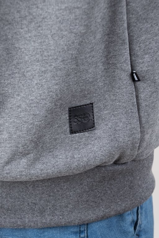 Bluza SSG Hoodie Zip Classic Grey
