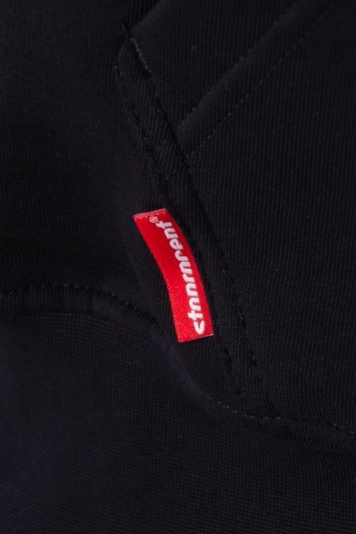 Bluza Stoprocent Hoodie Zip Dash Black