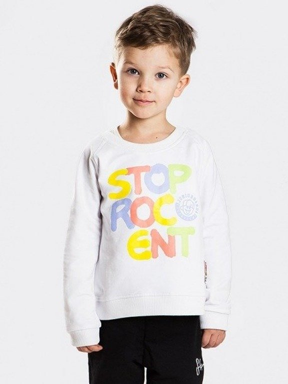 Bluza Stoprocent Kid Toy White