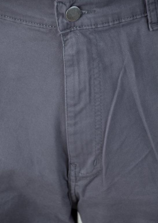 Bor Krótkie Spodenki Chino Classic Borcrew Grey