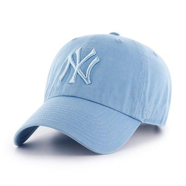 Czapka 47 Brand New York Yankees Clean Up Baby Blue