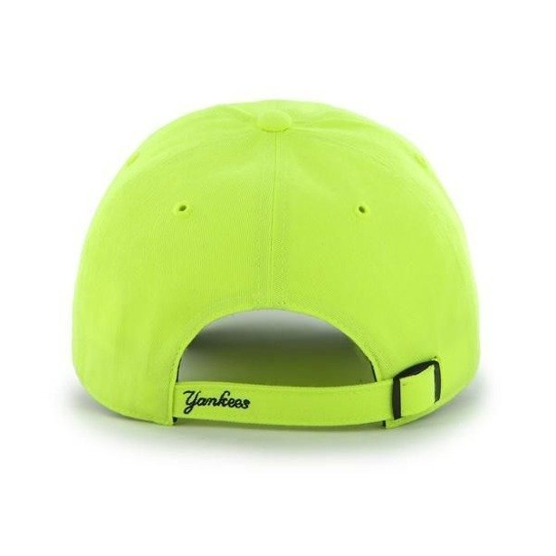 Czapka 47 Brand New York Yankees Clean Up Neon Yellow