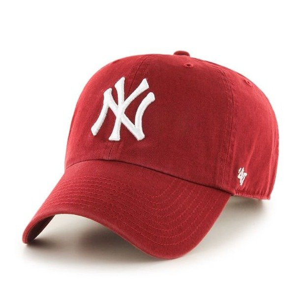 Czapka 47 Brand New York Yankees Clean Up Red