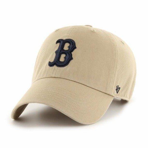 Czapka 47 Brand Red Sox Beige