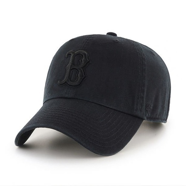 Czapka 47 Brand Red Sox Black