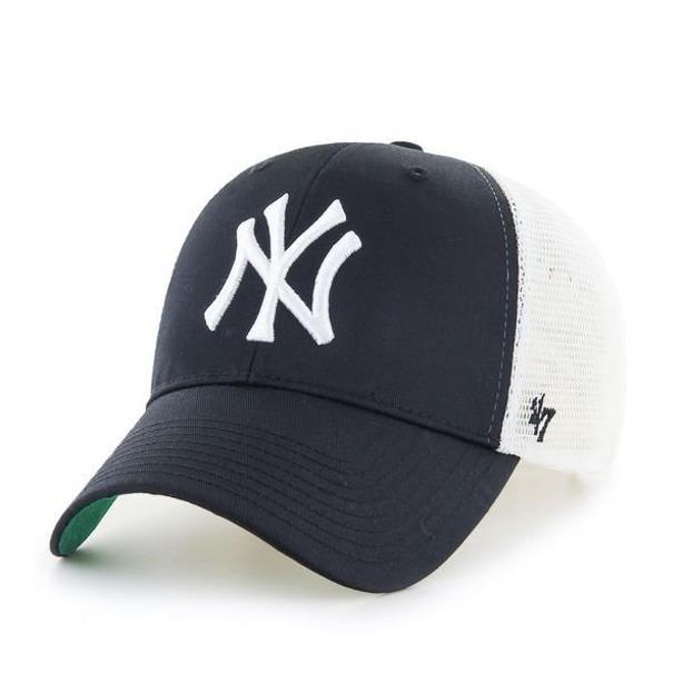 Czapka 47 Brand Trucker Brans New York Yankees Black