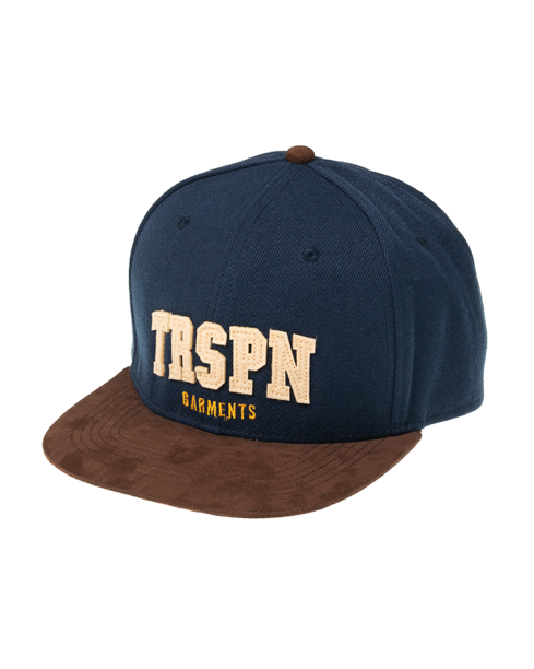 Czapka Snapback True Spin Trspn Navy-Brown