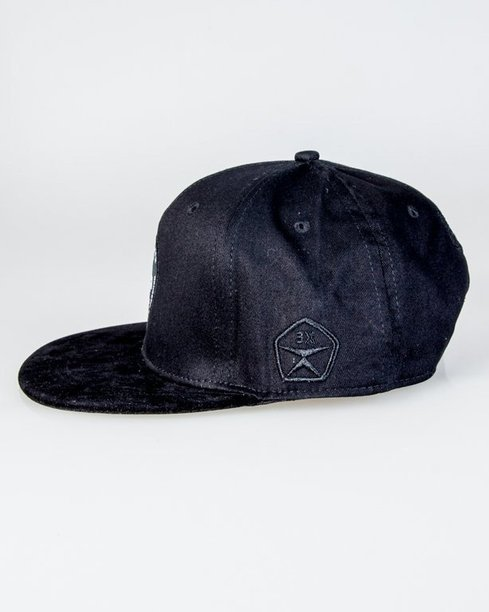 Czapka True Spin Snapback Car Black
