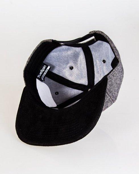 Czapka True Spin Snapback Rubber Logo Grey