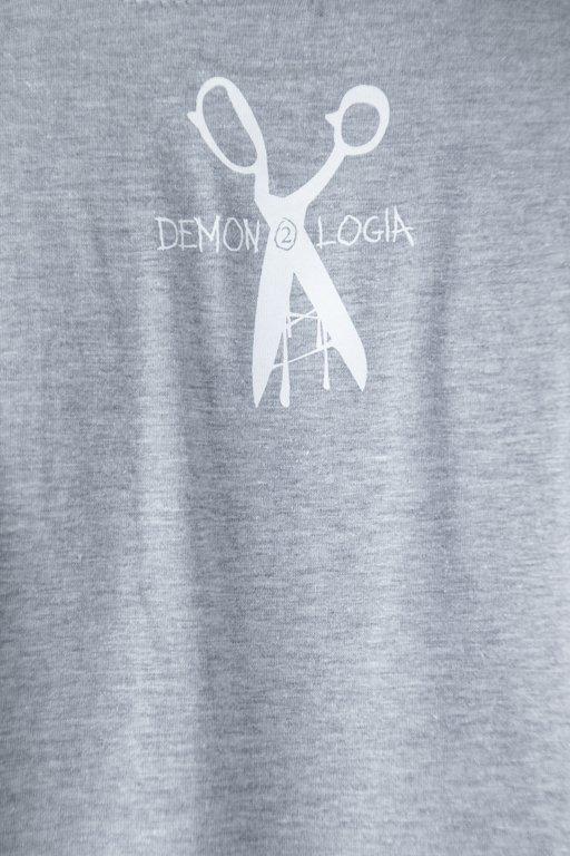 DEMONOLOGIA T-SHIRT JARAJ SIĘ GREY
