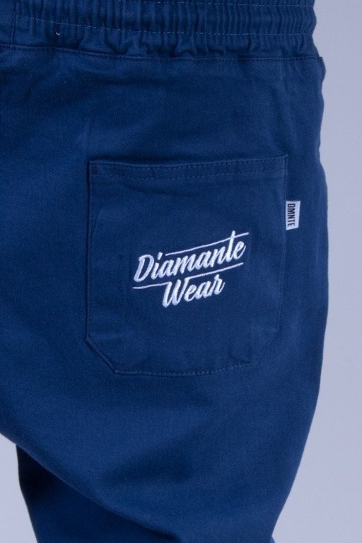 DIAMANTE WEAR SPODNIE CHINO JOGGER CLASSIC 2 BLUE