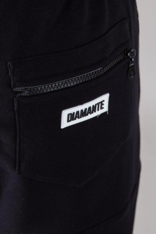 DIAMANTE WEAR SWEATPANTS HIPSTER HAFT BLACK