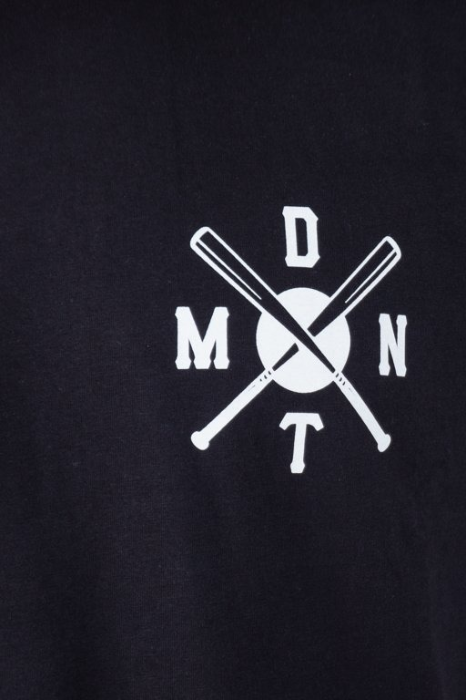 DIAMANTE WEAR T-SHIRT BAD MOTHERFUCKERS BLACK