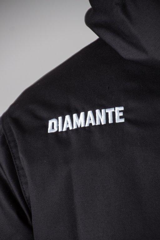DIAMANTE WEAR WINTER JACKET DIAMANTE CREW BLACK