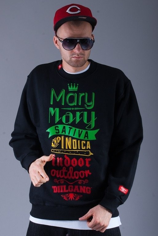 DIIL BLUZA BEZ KAPTURA MARY MARY BLACK