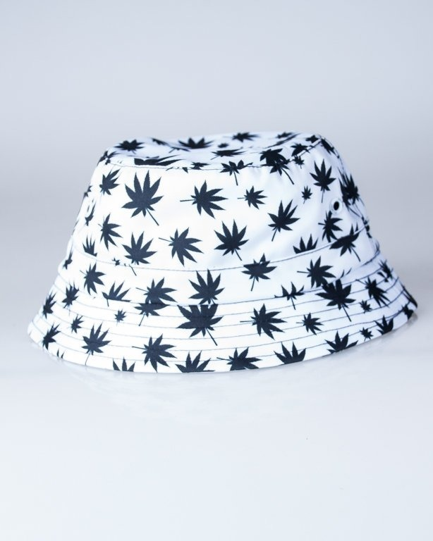 DIIL BUCKET HAT GANJA WHITE