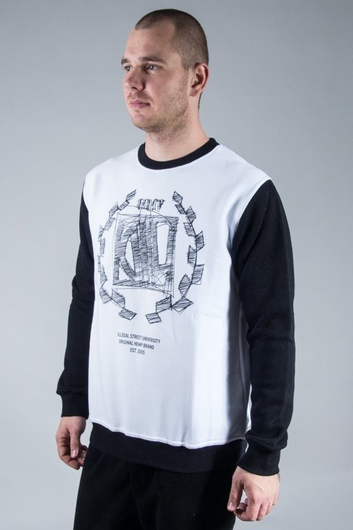 DIIL CREWNECK SKETCH BLACK-WHITE