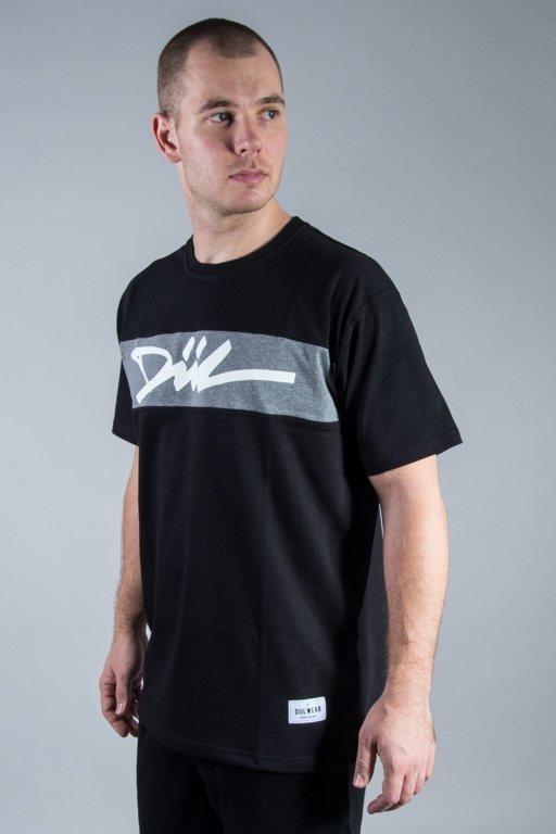 DIIL T-SHIRT CUT BLACK-GREY