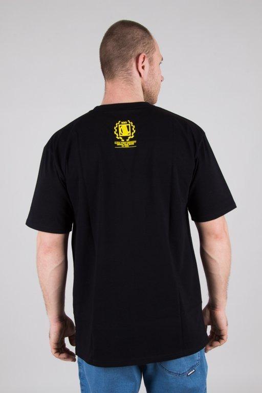 DIIL T-SHIRT SCRAWL BLACK-RASTA