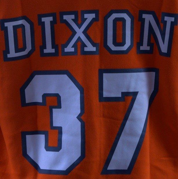 DIXON 37 BLUZA Z KAPTUREM ZIP ERGO ORANGE
