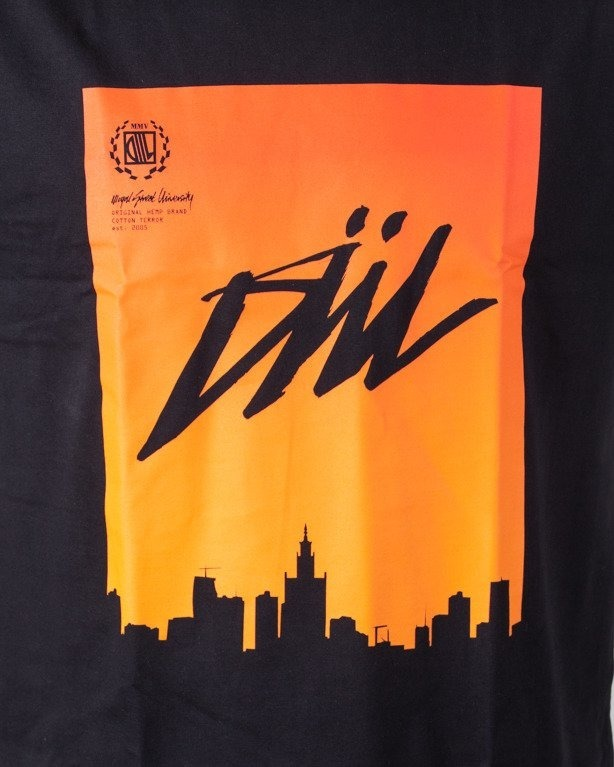 Diil Koszulka T-shirt Air City Black