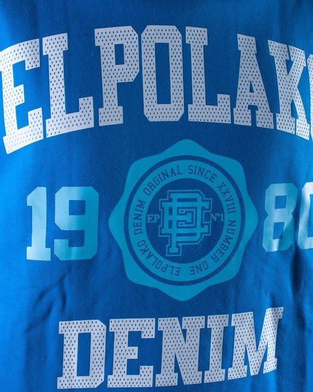 EL POLAKO BLUZA BEZ KAPTURA 1980 BLUE