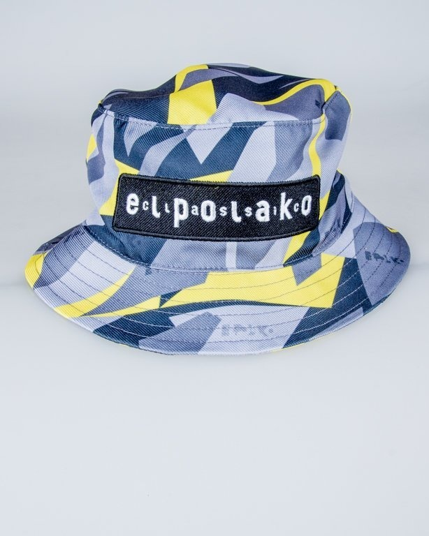 EL POLAKO BUCKET HAT TRIANGLE MORO YELLOW