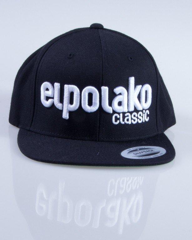 EL POLAKO CZAPKA SNAPBACK CLASSIC BLACK