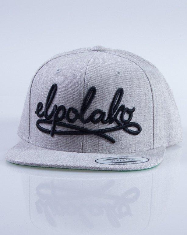 EL POLAKO CZAPKA SNAPBACK WRITTEN MELANGE