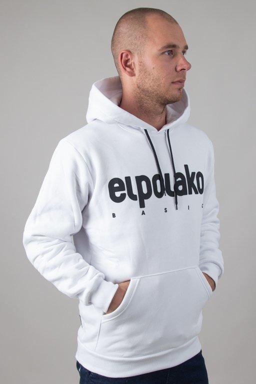 EL POLAKO HOODIE CLASSIC WHITE