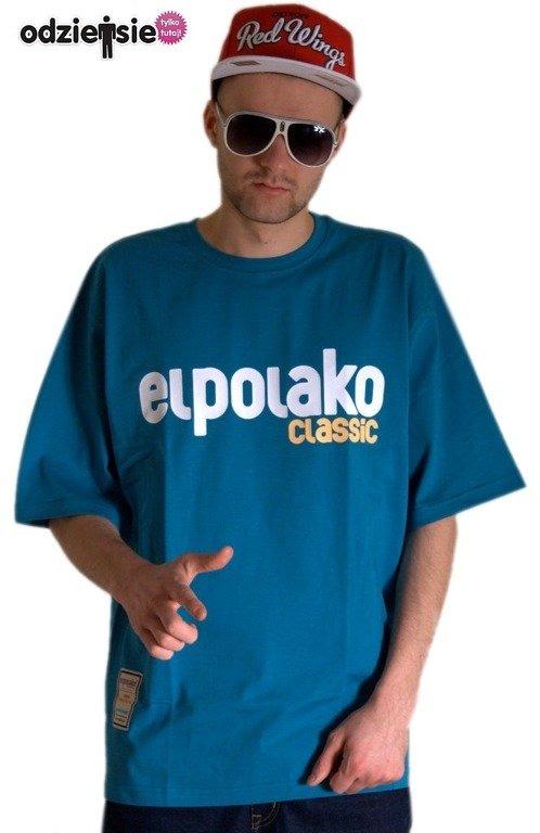EL POLAKO KOSZULKA CLASSIC 2013 MELANGE-BLUE