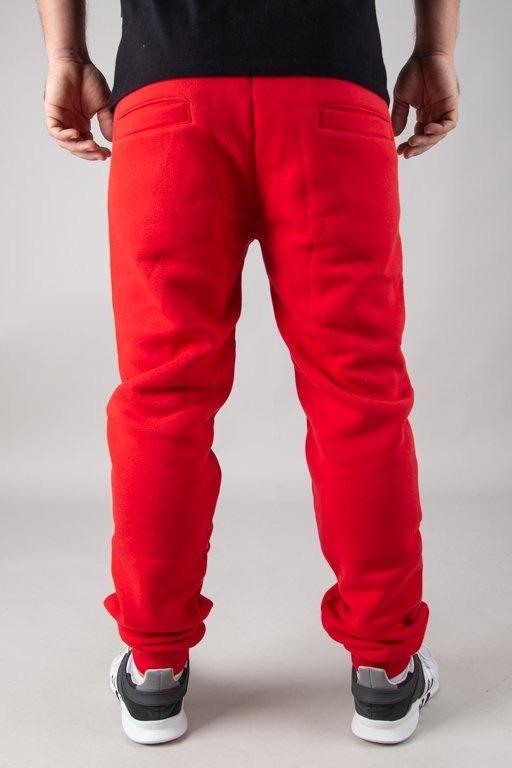 EL POLAKO SWEATPANTS FIT CLASSIC RED