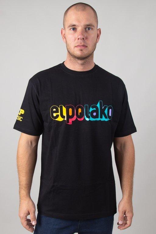 EL POLAKO T-SHIRT 3D BLACK
