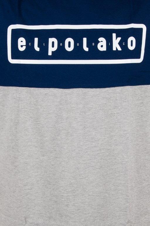 EL POLAKO T-SHIRT CLASSIC STYLE NAVY