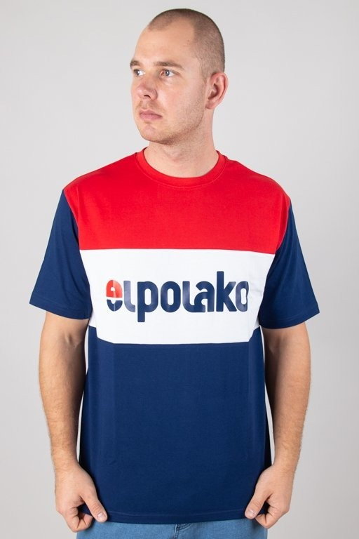 EL POLAKO T-SHIRT ELPO NEW NAVY