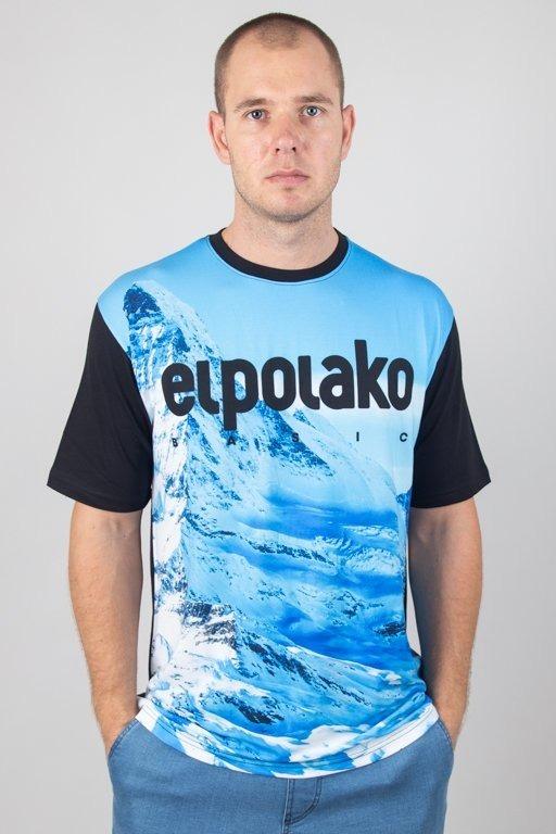 EL POLAKO T-SHIRT SZCZYT BLACK