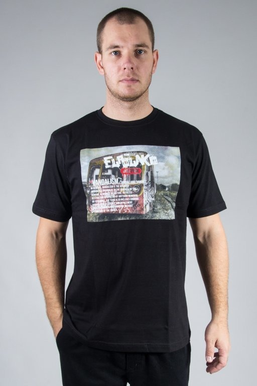 EL POLAKO T-SHIRT VANDALISM BLACK