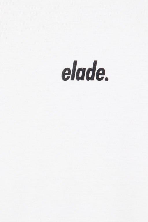 ELADE LONGSLEEVE LOGO WHITE