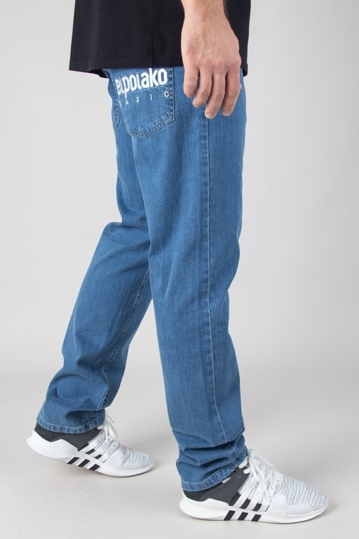 El Polako Spodnie Jeansy Slim Little Classic Light