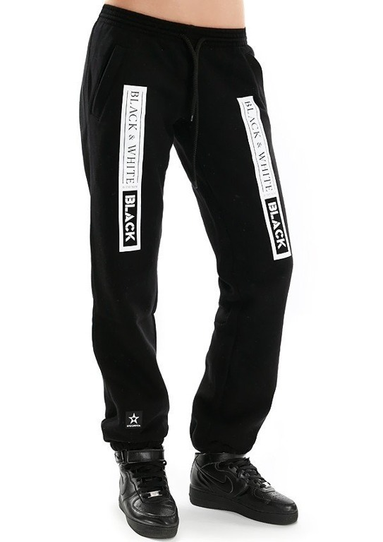 Endorfina Spodnie Dresowe Bw Black