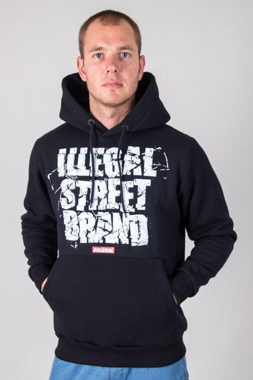ILLEGAL HOODIE STREET BRAND BLACK