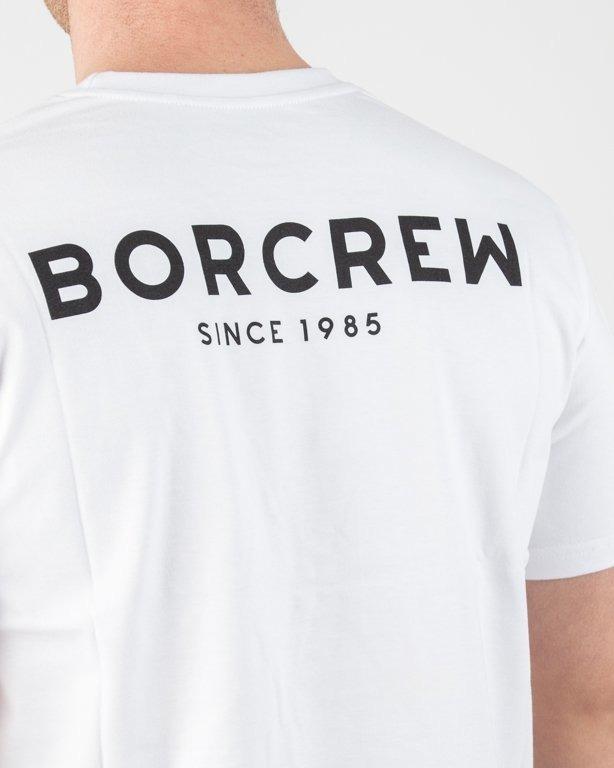 Koszulka Bor Classic Borcrew White