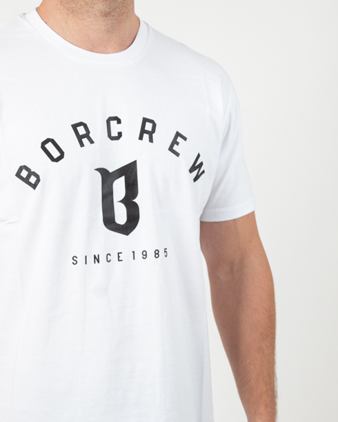 Koszulka Bor Classic White