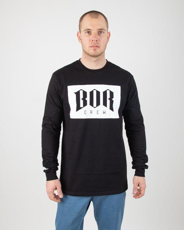 Koszulka Bor Longsleeve Bor New Black